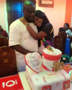 aigbe husband birthday