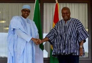 Presidents-Muhammadu-Buhari-of-Nigeria-John-Mahama-of-Ghana.-485x336