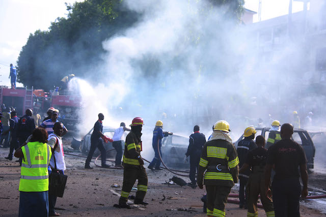 Fire-service-men-on-duty-at-the-bomb-blast-area