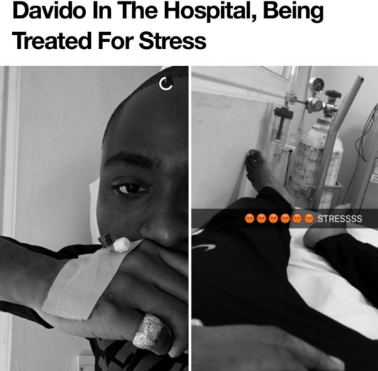 davido stressed out
